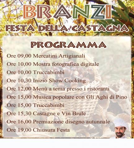 Festa della Castagna Branzi